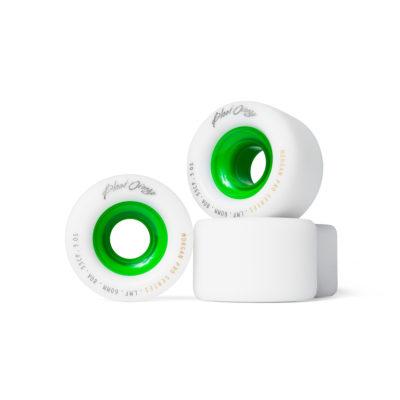 BLOOD ORANGE LM Pro Wheels green core