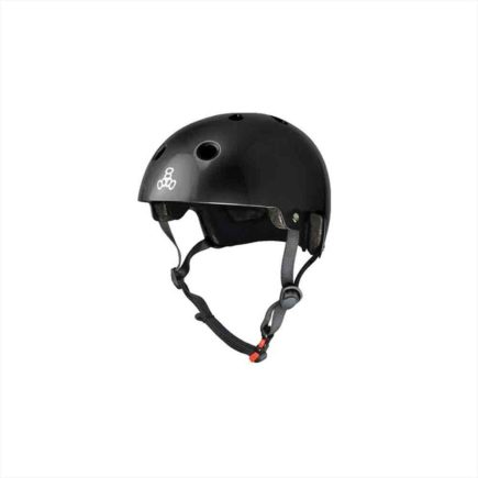 TRIPLE EIGHT Brainsaver Helmet black glossy