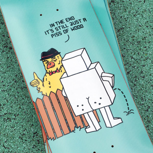 Robotron Skateboard-Decks