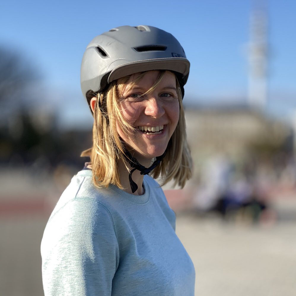 Teamrider Linda introduces herself