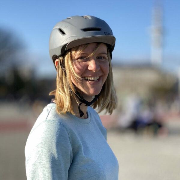 Teamrider Linda introduces herself